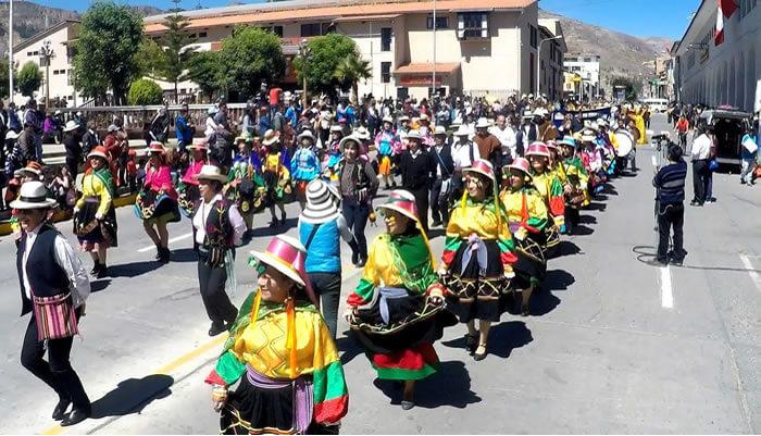 danza típica de huaraz